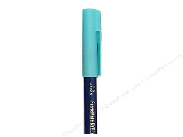 FabricMate Dye Markers Brush Tip Short Turquoise (3 pieces)