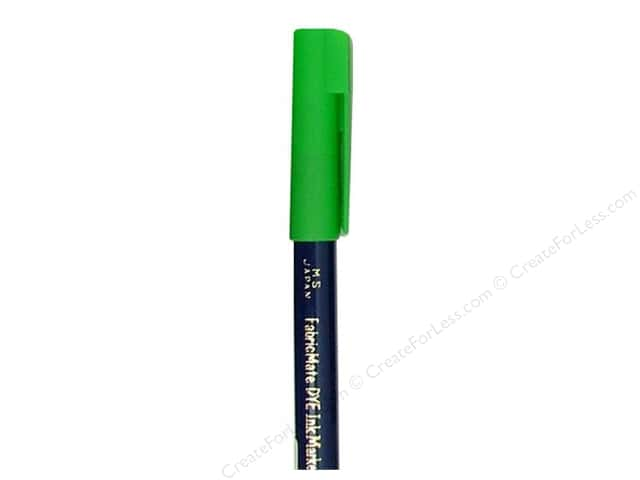 FabricMate Dye Markers Brush Tip Short Sea Green (3 pieces)