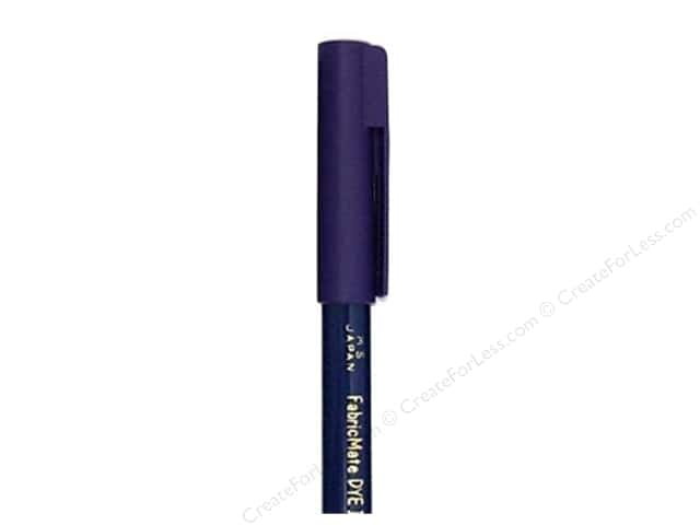 FabricMate Dye Markers Brush Tip Short Midnight Blue (3 pieces)