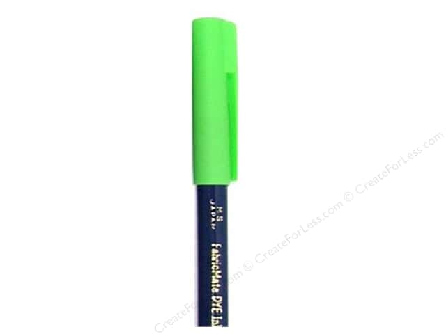 FabricMate Dye Markers Brush Tip Short Lime Squeeze (3 pieces)