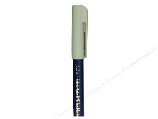 FabricMate Dye Markers Brush Tip Short Mist Grey (3 pieces)