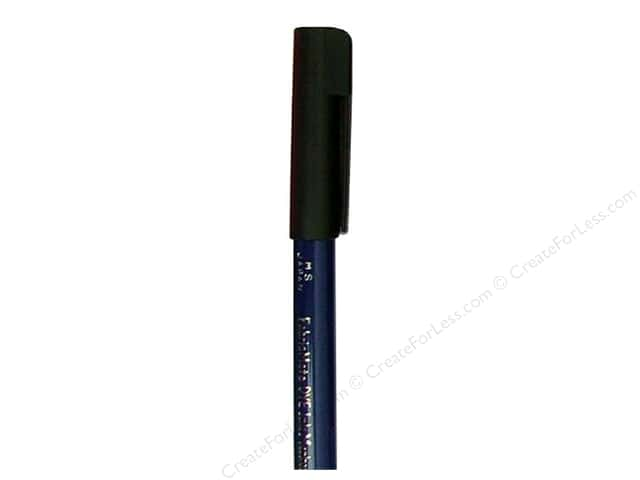 FabricMate Dye Markers Brush Tip Short Black (3 pieces)