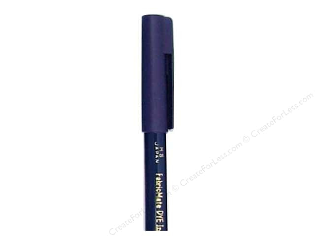 FabricMate Dye Markers Brush Tip Short Blue (3 pieces)