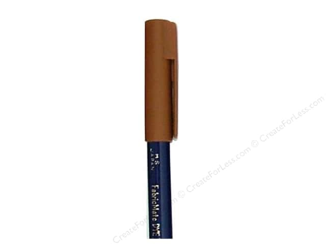 FabricMate Dye Markers Brush Tip Short Brown (3 pieces)
