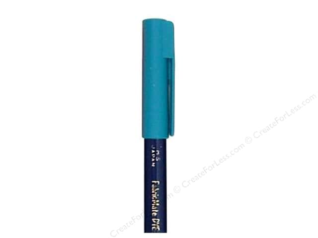 FabricMate Dye Markers Brush Tip Short Peacock Blue (3 pieces)