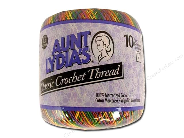 Aunt Lydia's Classic Cotton Crochet Thread Size 10 Mexicana