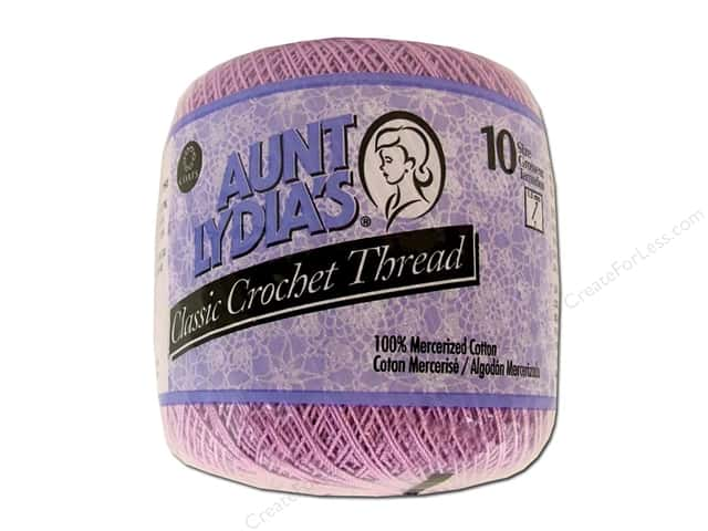 Aunt Lydia's Classic Cotton Crochet Thread Size 10 Wood Violet