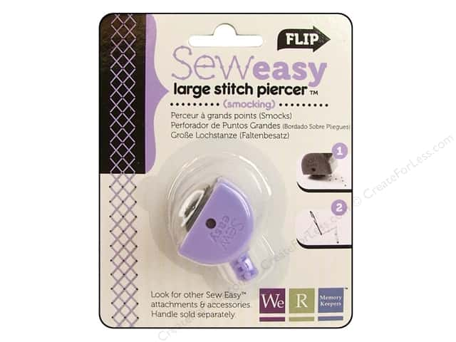 We R Memory Sew Easy Stitch Piercer Smocking