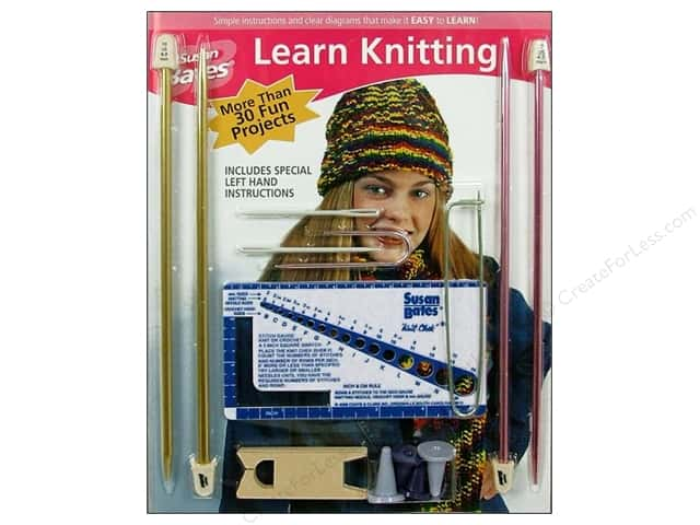 Susan Bates Kits Learn Knitting