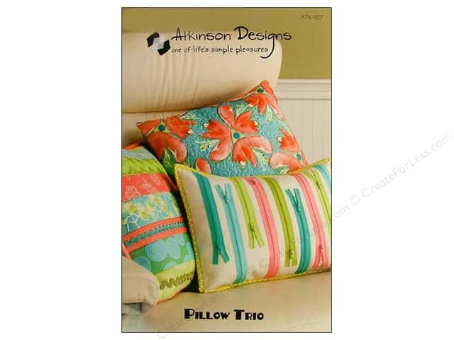 Atkinson Designs Pillow Trio Pattern