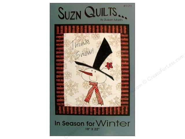Suzn Quilts In Season for Winter Pattern