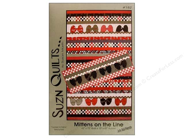 Suzn Quilts Mittens On The Line Pattern