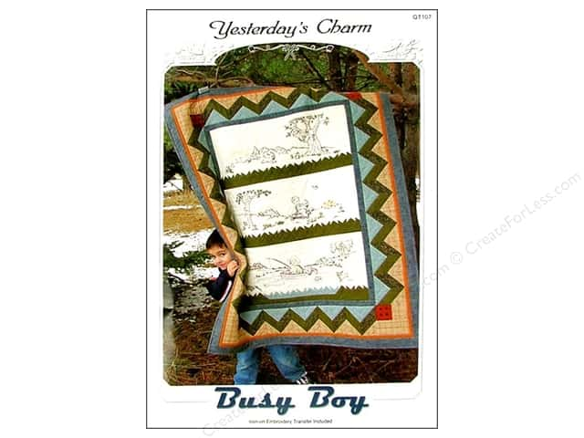 Yesterday's Charm Busy Boy Pattern
