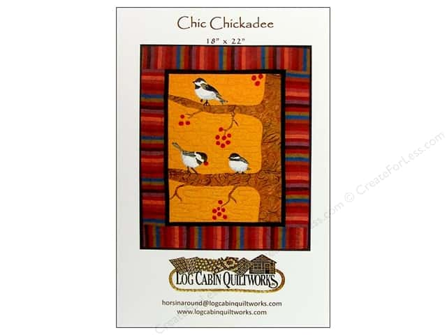 Log Cabin Quiltworks Chic Chickadee Pattern