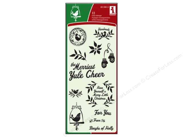 Inkadinkado Clear Stamp Folk Christmas