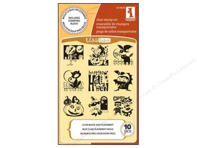 Inkadinkado Halloween Inchies Clear Stamp Happy Halloween