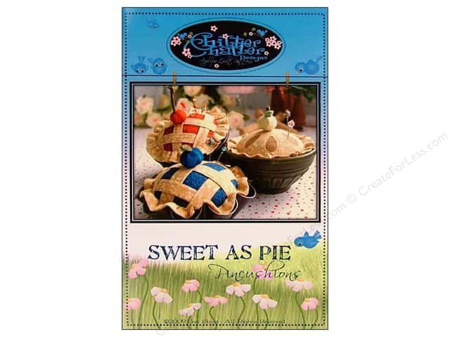 Chitter Chatter Designs Sweet Pie Pincushion Pattern