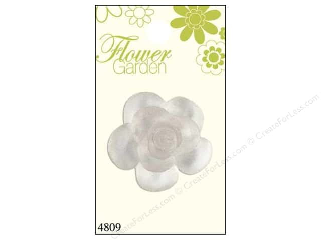Blumenthal Button Flower Garden Rose First Clear 1pc