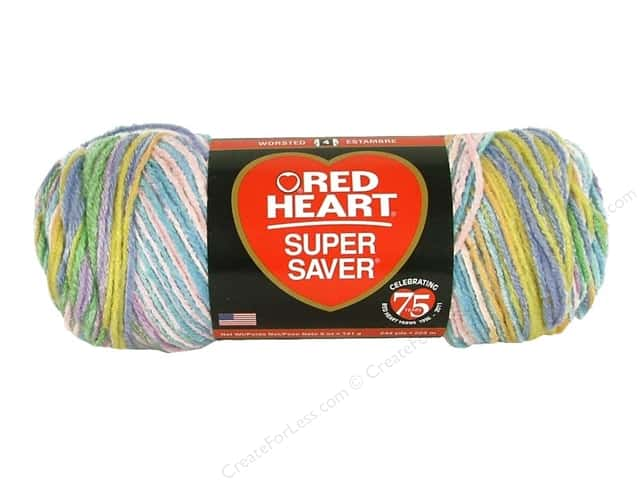 Red Heart Super Saver Yarn #913 Calliope 244 yd.