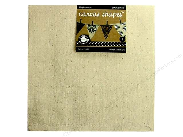 Canvas Corp Blank Shape Canvas Square