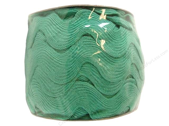 Jumbo Ric Rac by Cheep Trims  1 13/32 in. Aqua (24 yards)