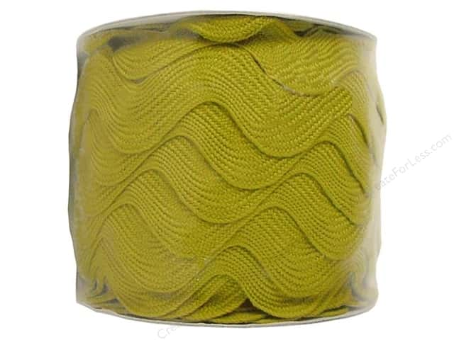 Jumbo Ric Rac by Cheep Trims  1 13/32 in. Chartreuse (24 yards)