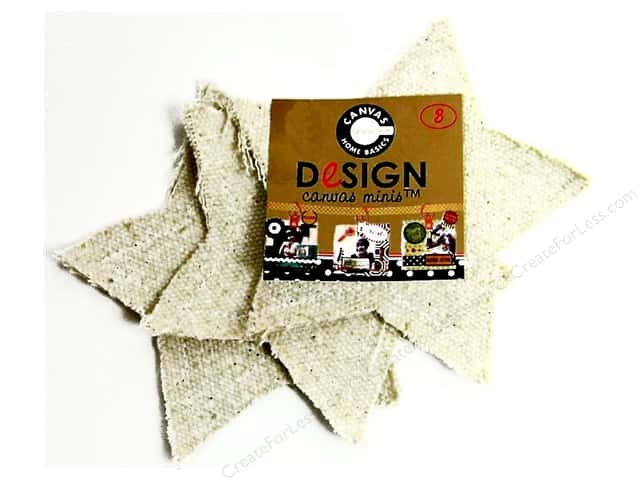 Canvas Corp Blank Shape Canvas Minis Star 3pc