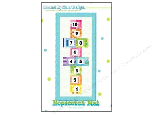 Me and My Sister Designs Hopscotch Mat Pattern