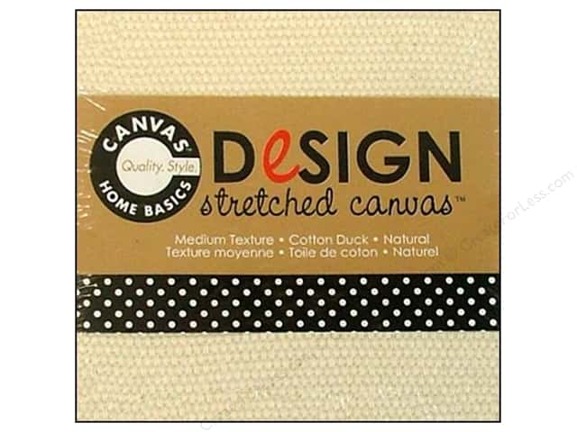 Canvas Corp Stretched Canvas 3 x 3 in. Natural