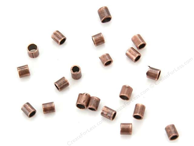 Sweet Beads Fundamental Finding Crimp Tube 2 mm Antique Copper 300pc