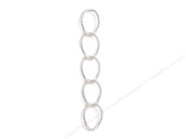 Sweet Beads Fundamental Finding Cable Chain 24 in. Silver