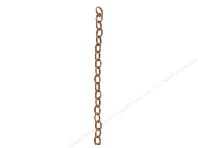 Sweet Beads Fundamental Finding Chain Metal 48 in. Antique Copper