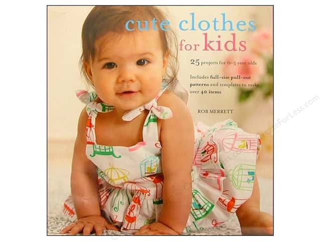 Cico Cute Clothes For Kids Book by Rob Merrett