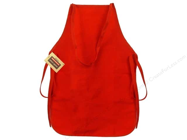 Simplicity Apron Adult Red