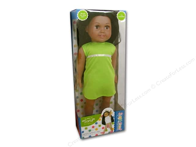 Springfield dolls 18 in latina maria createforless for Fibre craft 18 inch doll