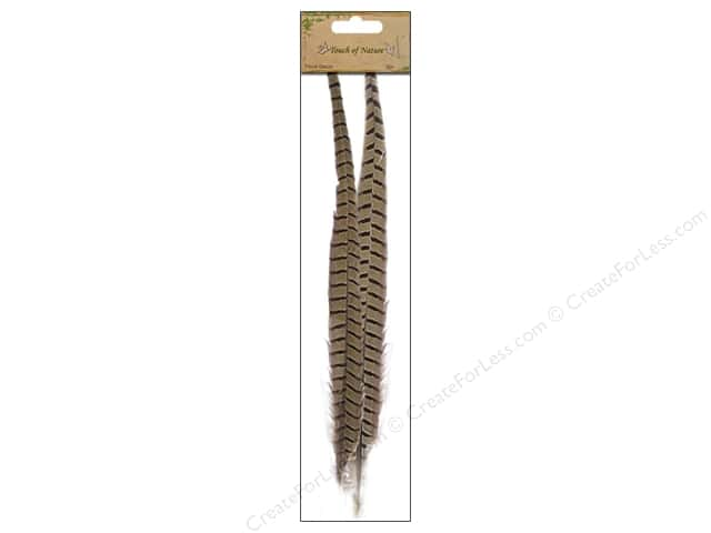 "Midwest Design Feather Pheasant Ringneck 20-22"" 2pc"