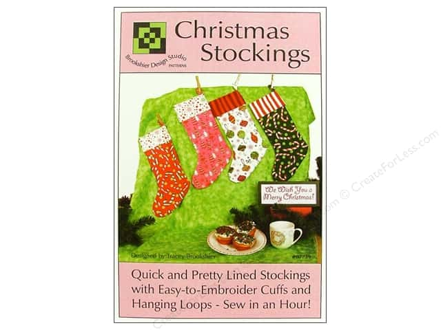 Brookshier Design Studio Christmas Stockings Pattern
