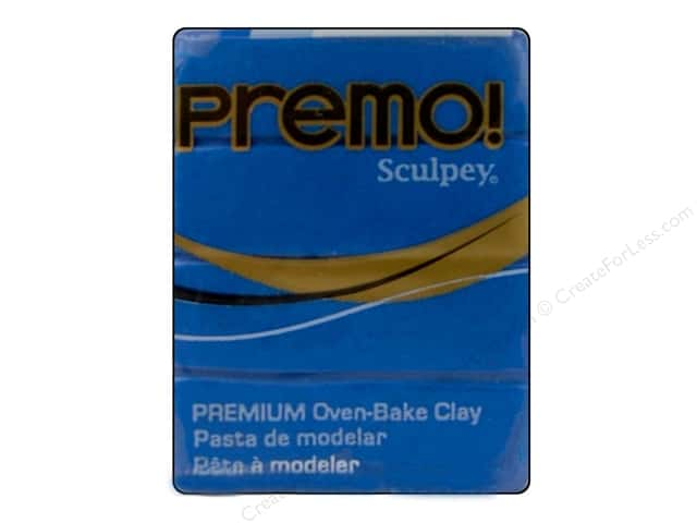 Premo Polymer Clay 2oz Blue Pearl