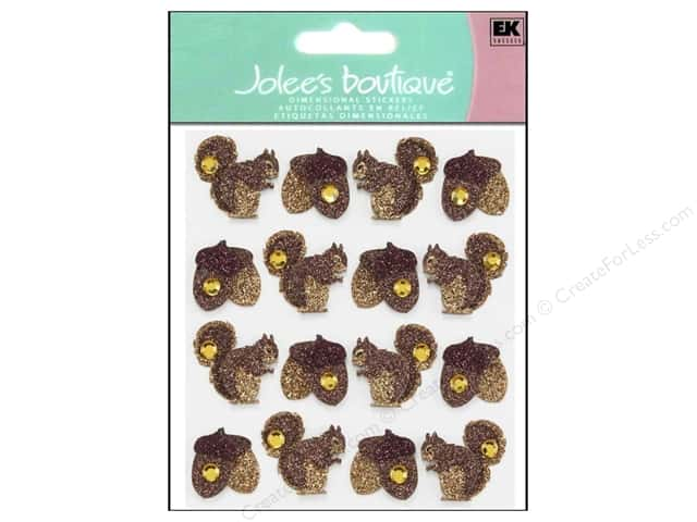 Jolee's Boutique Stickers Repeats Acorns & Squirrel