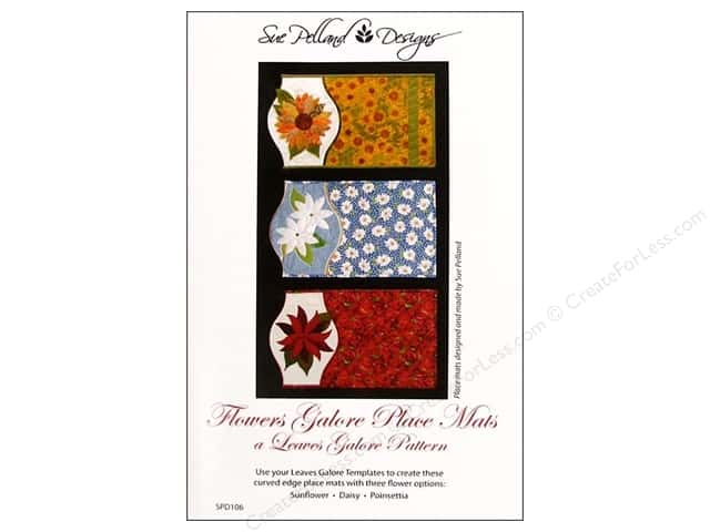 Sue Pelland Flowers Galore Leaves Galore Pattern