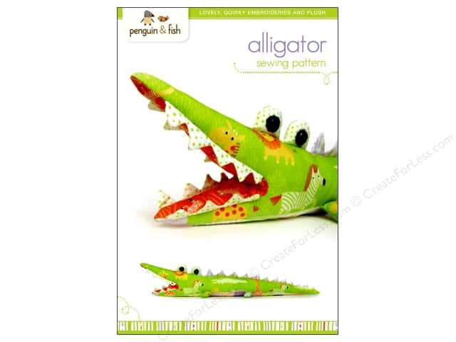 Penguin & Fish Alligator Sewing Pattern