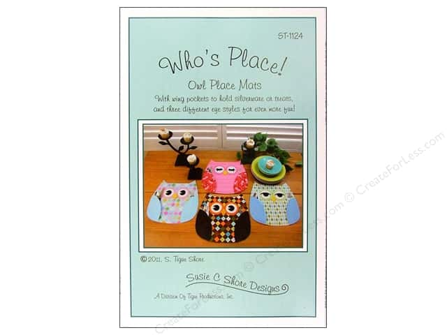 Susie C Shore Who's Place Pattern