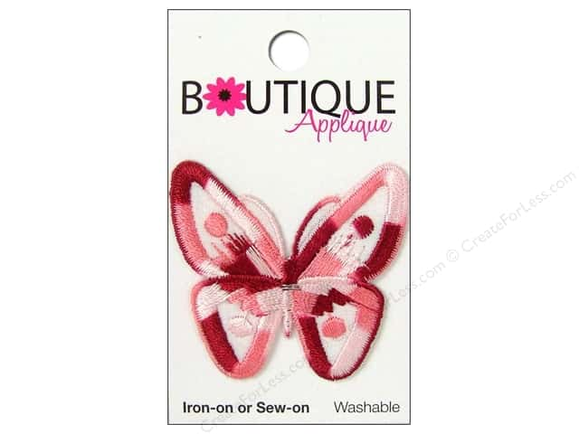 Blumenthal Applique Boutique Pink Butterfly