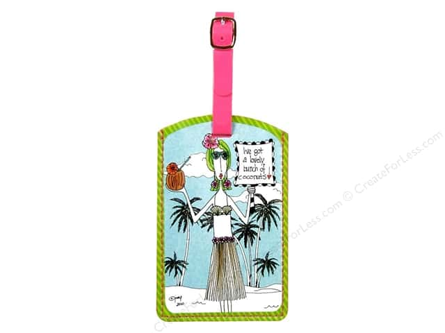 Pictura Luggage Tag Dolly Mama Tropical