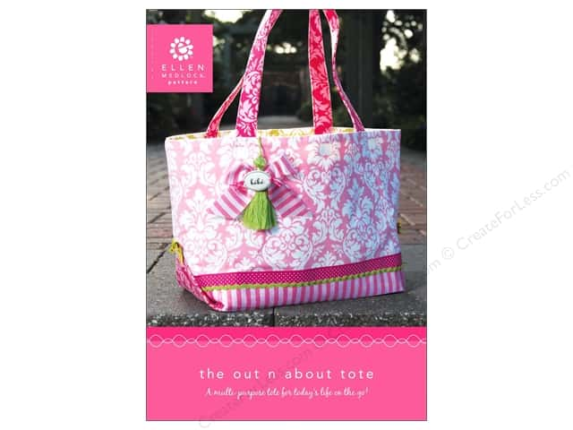 Ellen Medlock The Out n About Tote Pattern