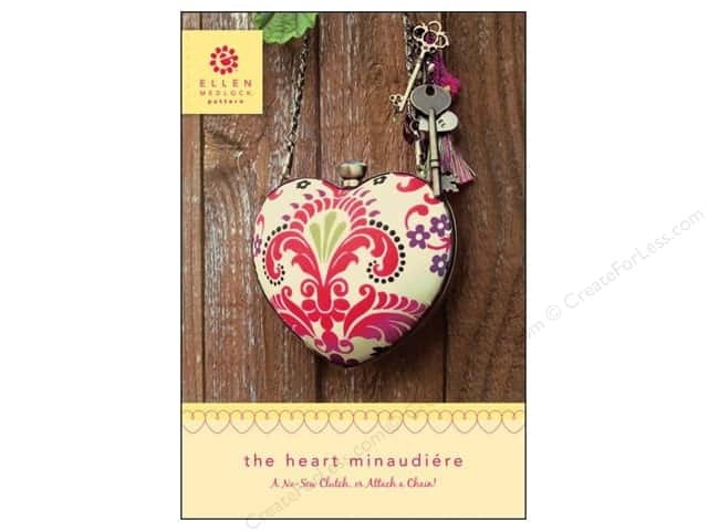 Ellen Medlock Clutch Blank The Heart Minaudiere