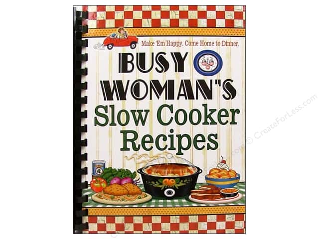 Cookbook Resources Books Busy Woman Slow Cooker Recipes Book