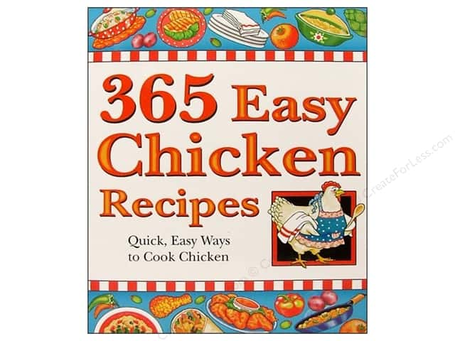 Cookbook Resources Books 365 Easy Chicken Recipes Book