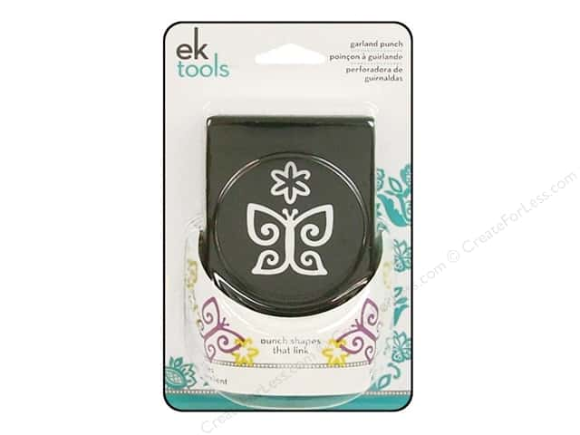 EK Paper Shapers Garland Punch Butterfly & Flower