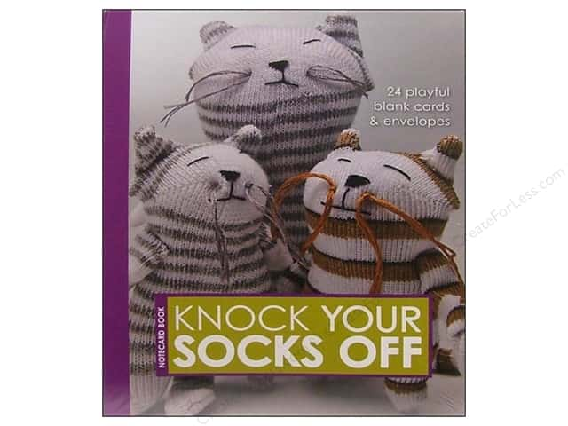 Stash By C&T Knock Your Socks Off Notecards 24pc